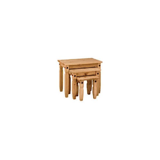 Honduras Nest of Tables, Pine
