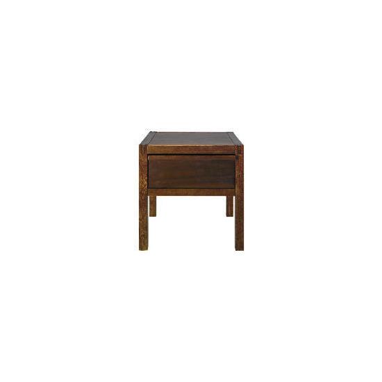 Hanoi Side Table, Walnut Effect