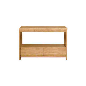 Photo of Monzora 2 Drawer Console, Oak Effect Furniture
