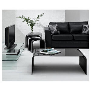 Photo of Geneva Glass Unit Black TV Stands and Mount