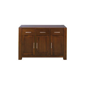 Photo of Tribeca 3 Drawer 3 Doors Sideboard, Acacia Effect Furniture