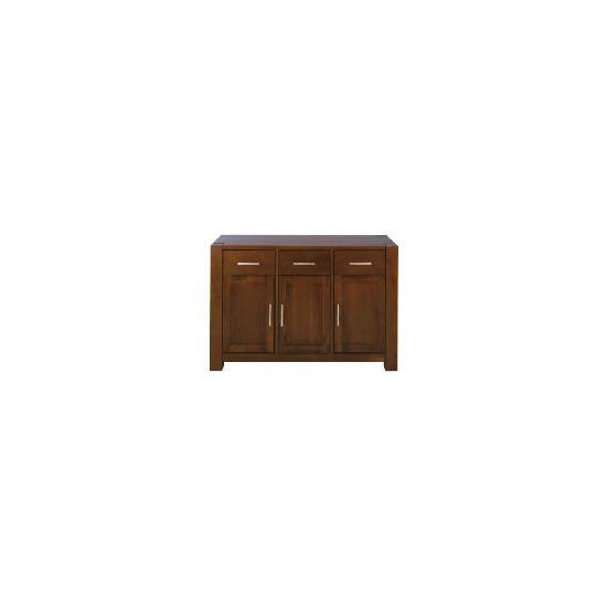 Tribeca 3 drawer 3 doors Sideboard, Acacia Effect