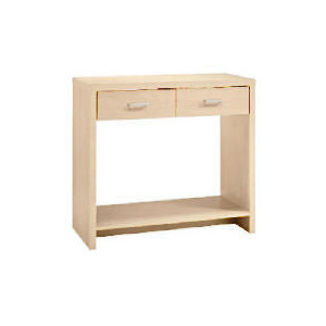 Photo of Munich 2 Drawer Console, Maple Effect Furniture