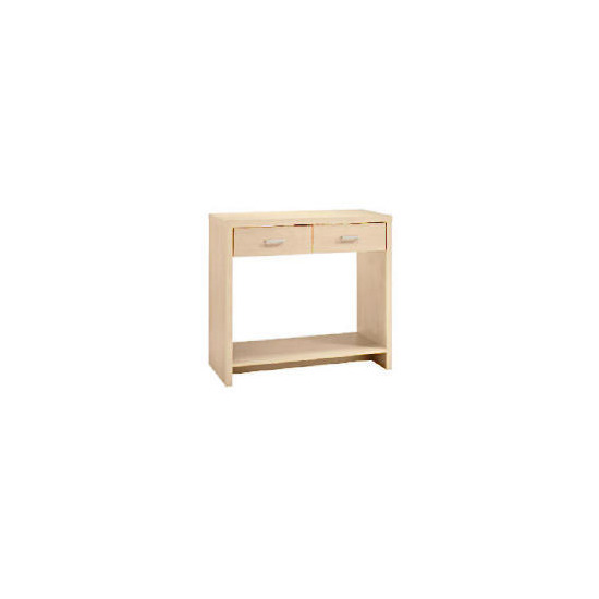 Munich 2 drawer Console, Maple effect