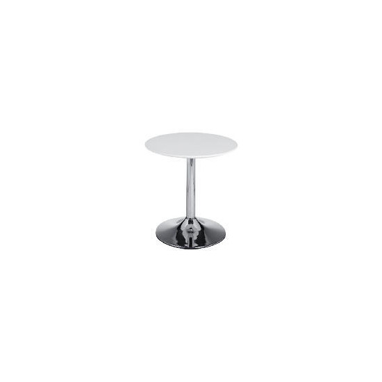 Barello Side Table, White