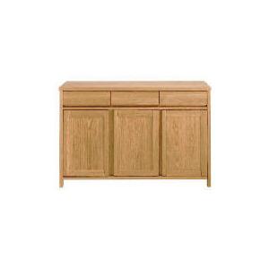 Photo of Monzora 3 Drawer 3 Doors Sideboard, Oak Effect Furniture
