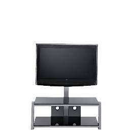 Glass 2 Shelf TV Unit Black Reviews