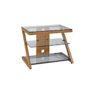 Photo of Wood Effect 3 Shelf TV Unit TV Stands and Mount
