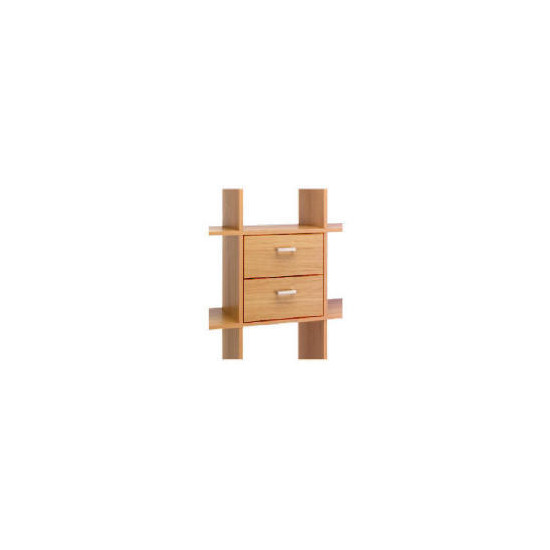 Munich pack 2 Drawers, Oak effect
