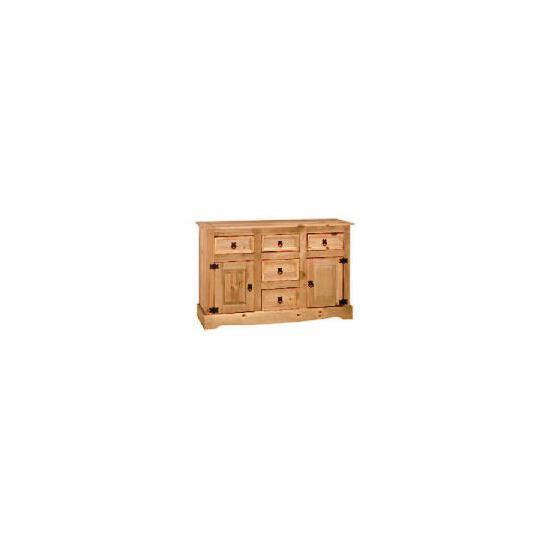 Honduras 5 drawer 2 door Sideboard, Pine