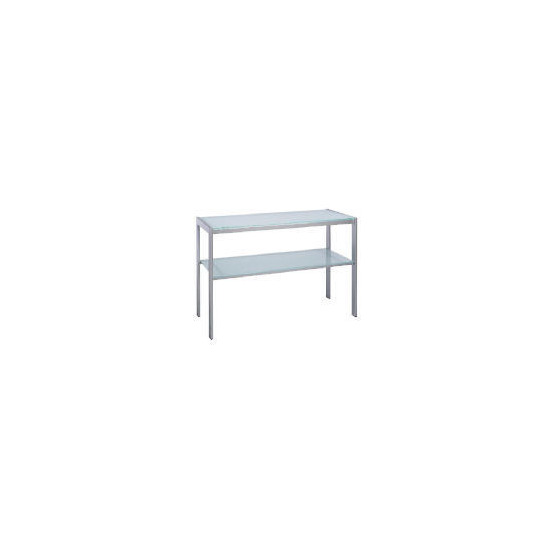 Stanford Glass & Metal Console Table