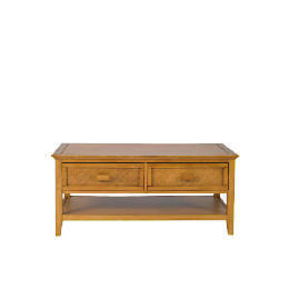 Belize 2 drawer Coffee Table, antique finish Reviews