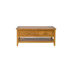 Photo of Belize 2 Drawer Coffee Table, Antique Finish Furniture