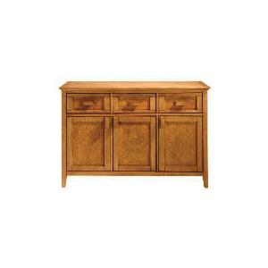 Photo of Belize 3 Drawer 3 Doors Sideboard, Antique Finish Furniture