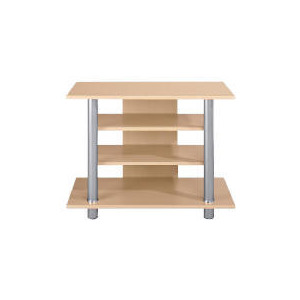 Photo of Maple Effect  4 Shelf Unit TV Stands and Mount