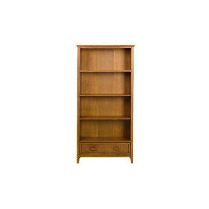 Photo of Belize 1 Drawer Tall Bookcase, Antique Finish Furniture