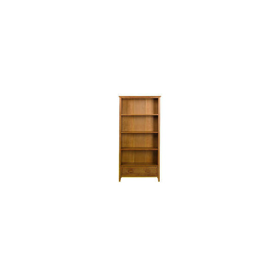 Belize 1 drawer Tall Bookcase, antique finish