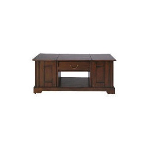 Photo of Finest Malabar Coffee Table, Dark Wood Finish Furniture