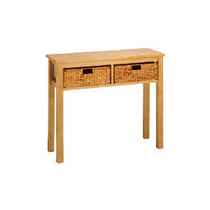 Photo of Manila 2 Drawer Console Table, Natural Furniture