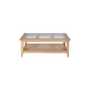 Photo of Lavenham Oak & Glass Coffee Table Furniture