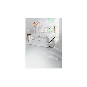 Photo of Finest Pocket 2400 King 2 Drawer Divan Set Bedding