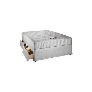 Photo of Finest Ortho Double 2 Drawer Divan Set Bedding