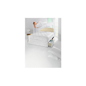 Photo of Finest Pocket 2400 Double 2 Drawer Divan Set Bedding