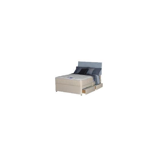 Silentnight Miracoil Latex Como 6ft 4 drawer Divan Set
