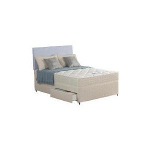 Photo of Silentnight Miracoil Tahoe Double 2 Drawer Divan Set Bedding