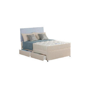 Photo of Silentnight Miracoil Tahoe Double 4 Drawer Divan Set Bedding