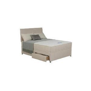 Photo of Silentnight Miracoil Memory Malawi Single 2 Drawer Divan Set Bedding