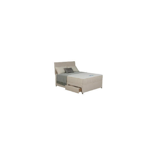Silentnight Miracoil Memory Malawi Single 2 drawer Divan Set