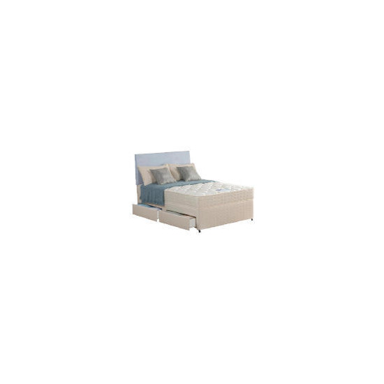 Silentnight Miracoil Tahoe 4ft 4 drawer Divan Set