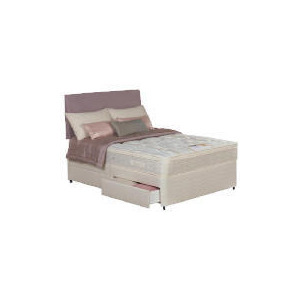 Photo of Silentnight Miracoil Supreme Superior Single 2 Drawer Divan Set Bedding