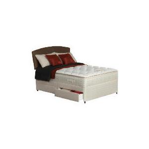 Photo of Silentnight Miracoil Supreme Michigan King 2 Drawer Divan Set Bedding