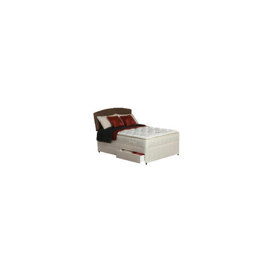 Silentnight Miracoil Supreme Michigan King 2 drawer Divan Set