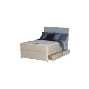 Photo of Silentnight Miracoil Latex Como Double 4 Drawer Divan Set Bedding