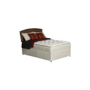 Photo of Silentnight Miracoil Supreme Michigan Double Non Storage Divan Set Bedding