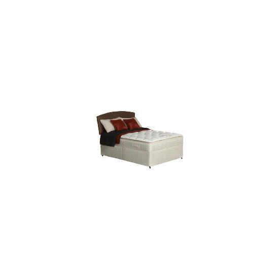 Silentnight Miracoil Supreme Michigan Double non storage divan Set