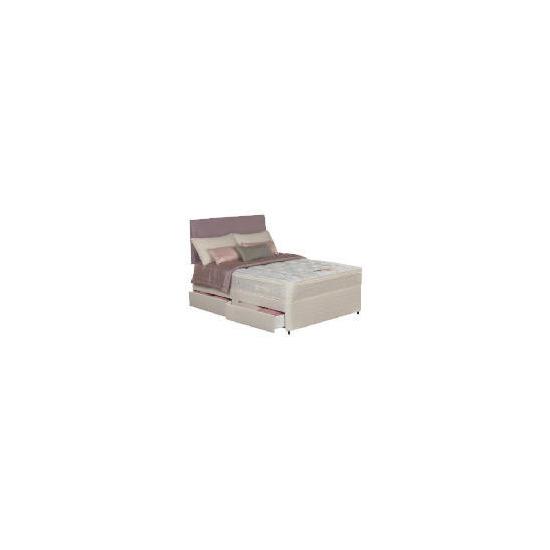 Silentnight Miracoil Supreme Superior Double 4 drawer Divan Set