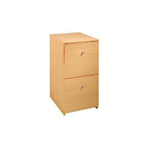 Photo of Freshman 2 Drawer Filing Cabinet, Beech Effect Furniture