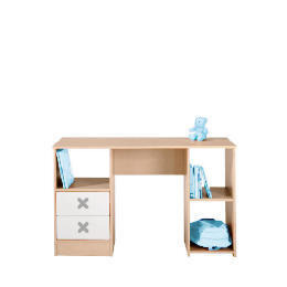 Cottonwood Dressing Table/Desk with 2 drawers, White Reviews
