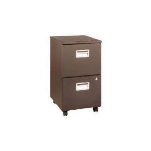 Photo of Reno 2 Drawer Filing Cabinet, Dark Chocolate Furniture