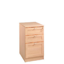 Oak Framed Modular 3 drawer filer, oak effect Reviews