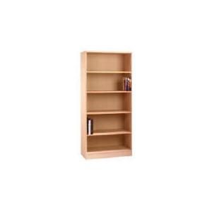 Photo of Oak Framed Modular Tall Bookcase, Oak Effect Furniture