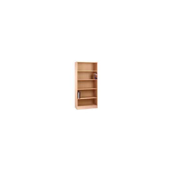 Oak Framed Modular tall bookcase, oak effect