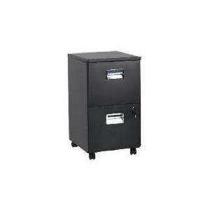 Photo of Reno 2 Drawer Filing Cabinet, Matt Black Furniture