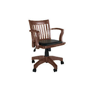 Photo of Stafford Captains Chair, Dark Furniture