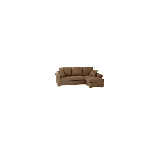 Chiswick Large Chaise Sofa Bed with storage, Mink Right hand facing