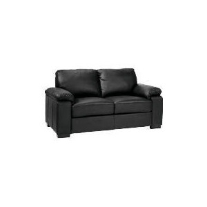 Photo of Ashmore  Leather Sofa, Black Furniture